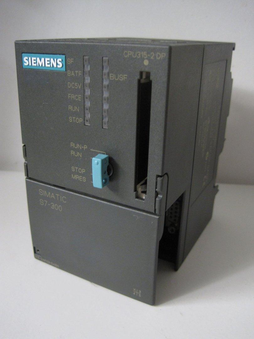 Siemens 6ES7 315-2AF03-0AB0 SIMATIC S7-300 6ES7315-2AF03-0AB0 CPU315-2 DP E:02